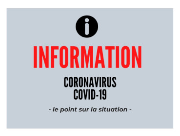 Note d'information Coronavirus COVID 19
